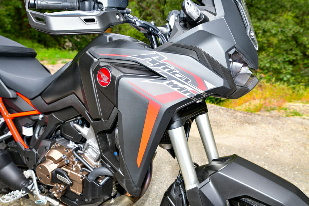2020 Honda CRF1100L Africa Twin Chassis