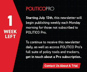 July updates to POLITICO's 2020 elections forecast for the presidential race