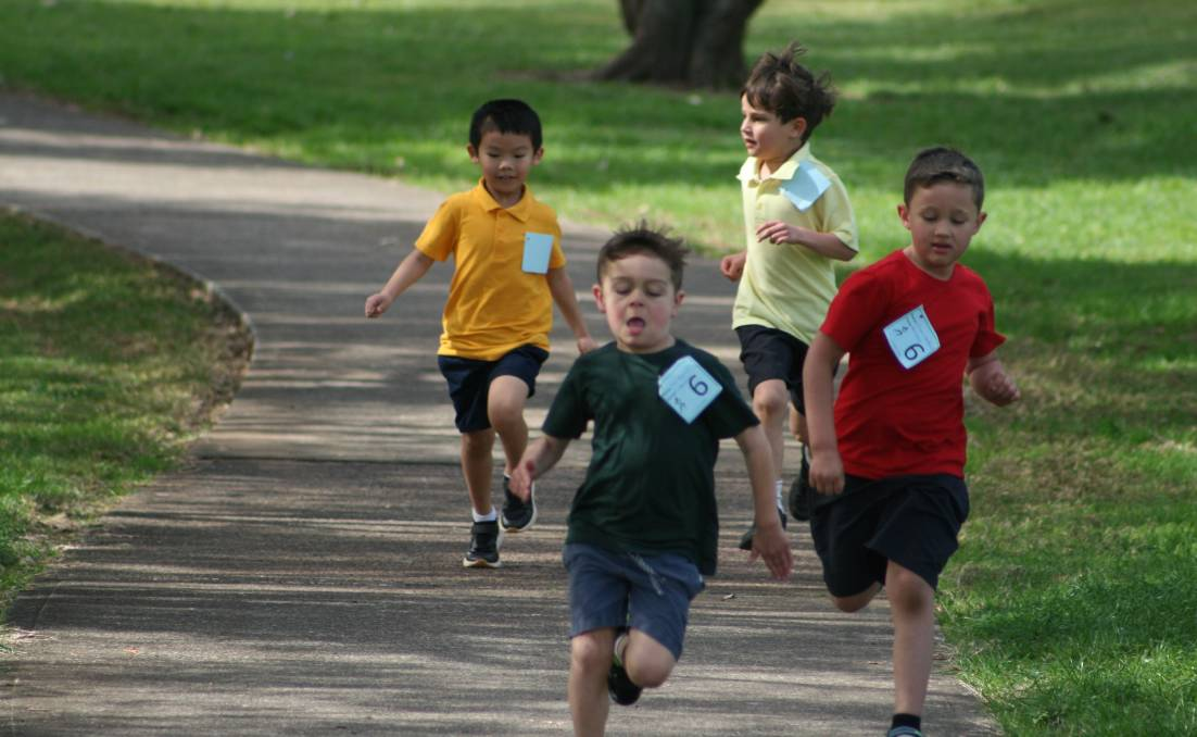 Tacking Point Public School celebrated Education Week with their cross country run.