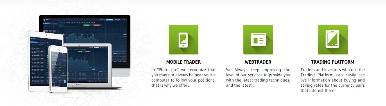 Plutus Pro Trading Platforms